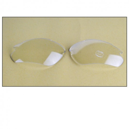 Clear, Untinted Lenses